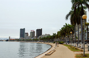 City of Luanda, The Marginal