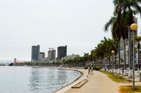 City of Luanda, The Marginal