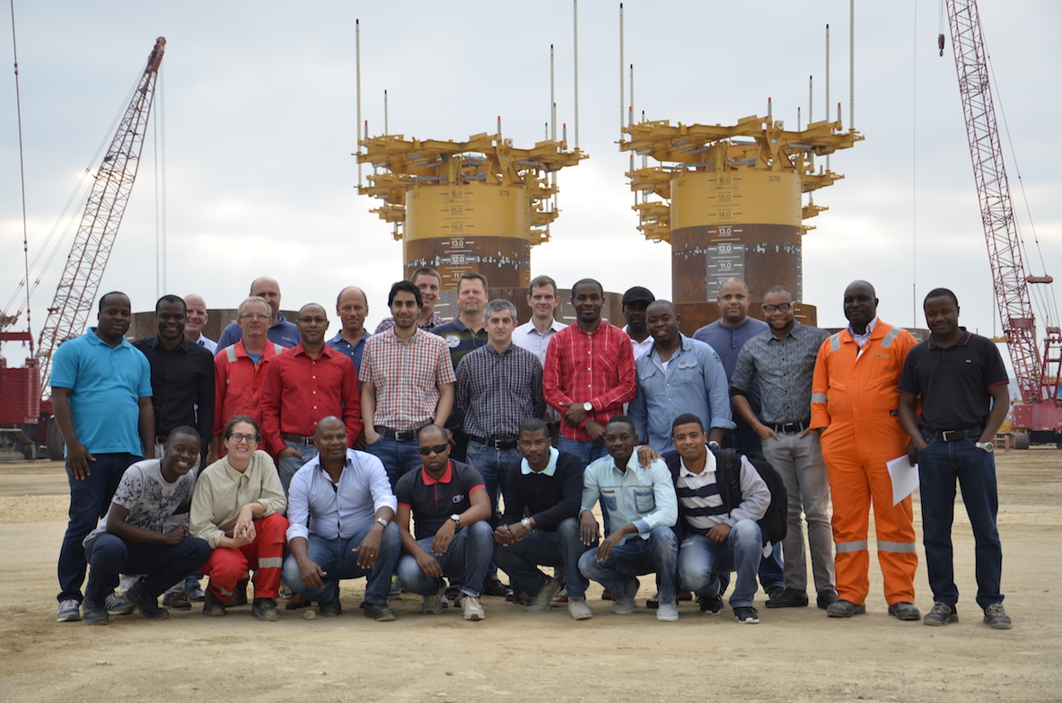 Aker Solutions Staff - Kaombo Project