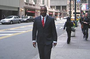 Pedro Godinho in New York City