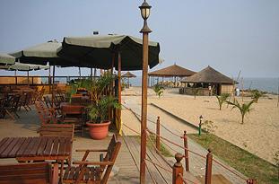 City of Luanda, JANGO Restaurant on the Ilha